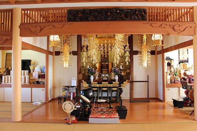 正覚寺本堂の様子